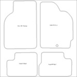 Honda HRV 3 Door Car Mats